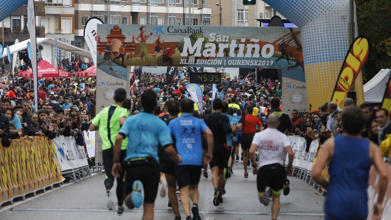 Búscate en el multitudinario pelotón de la San Martiño.Armando Ojea y Gonzalo Pérez Jácome