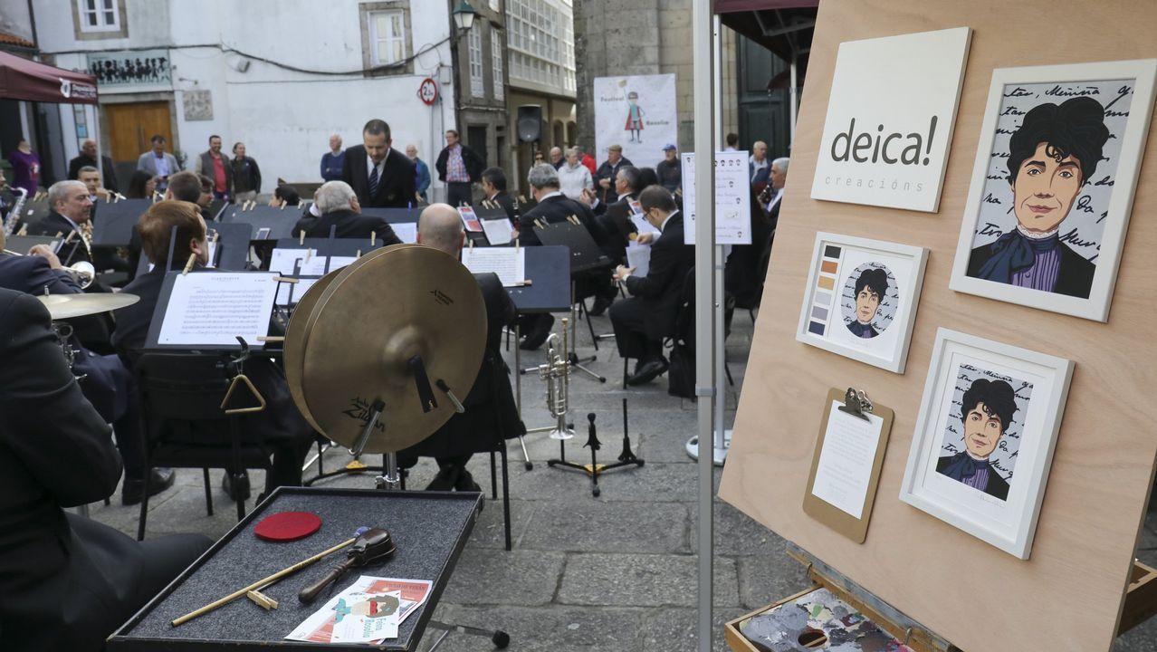 «A derradeira leición do mestre», de Castelao, loce xa en Galicia.O cadro foi desembalado este mércores na Cidade da Cultura, onde se poderá ver a partir deste venres