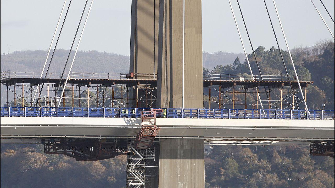 Rajoy inaugurará el sábado las obras de ampliación del puente de Rande