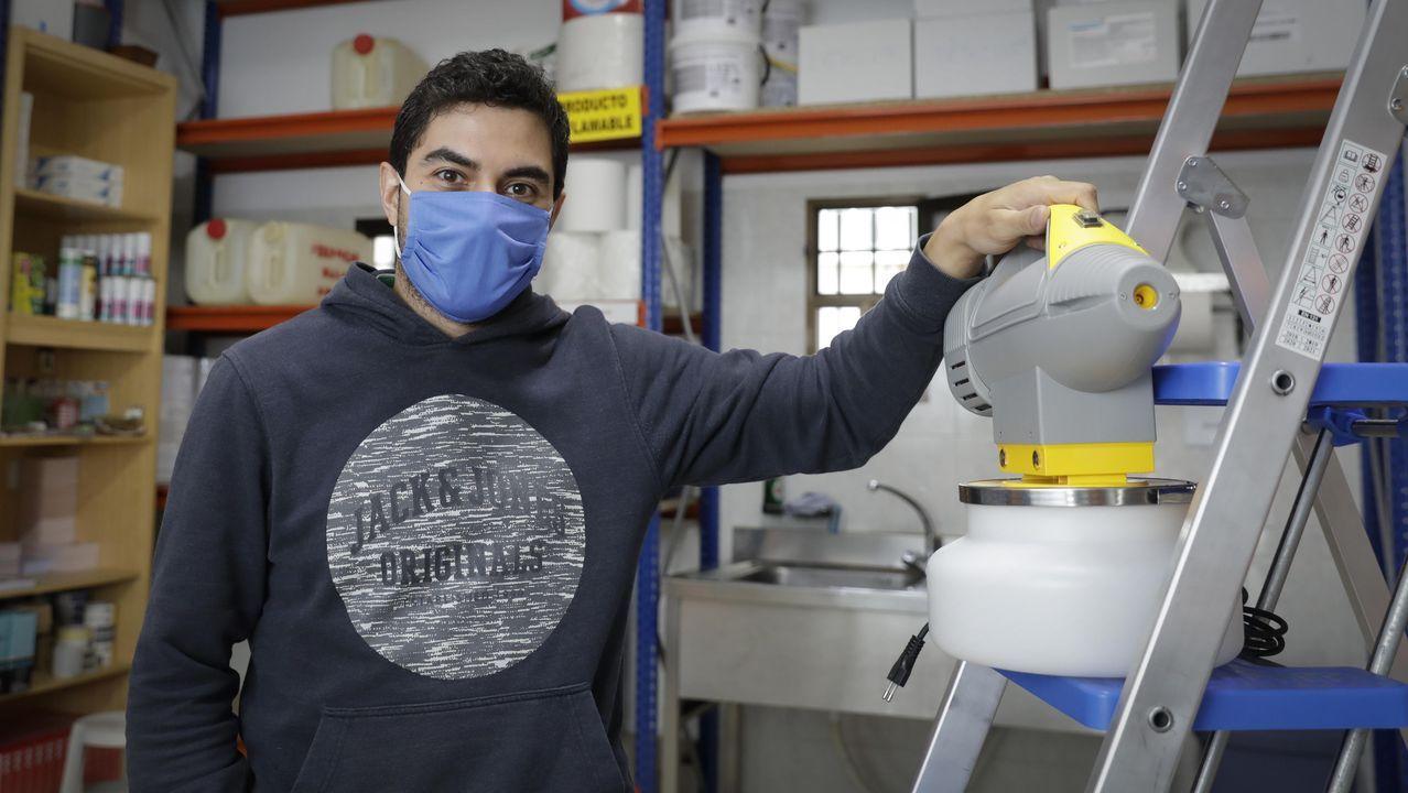 Adrián Andrade, de la empresa de control de plagas Andrade