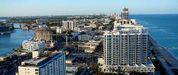 A capital de Florida é Tallahassee, pero a cidade máis poboada do estado é Miami (na foto)