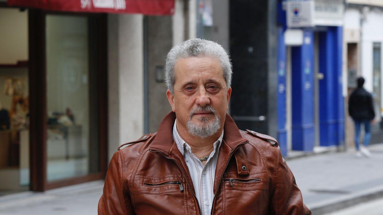 Oviedo .José Luis boado, presidente de la FUCC (comercio coruñés)