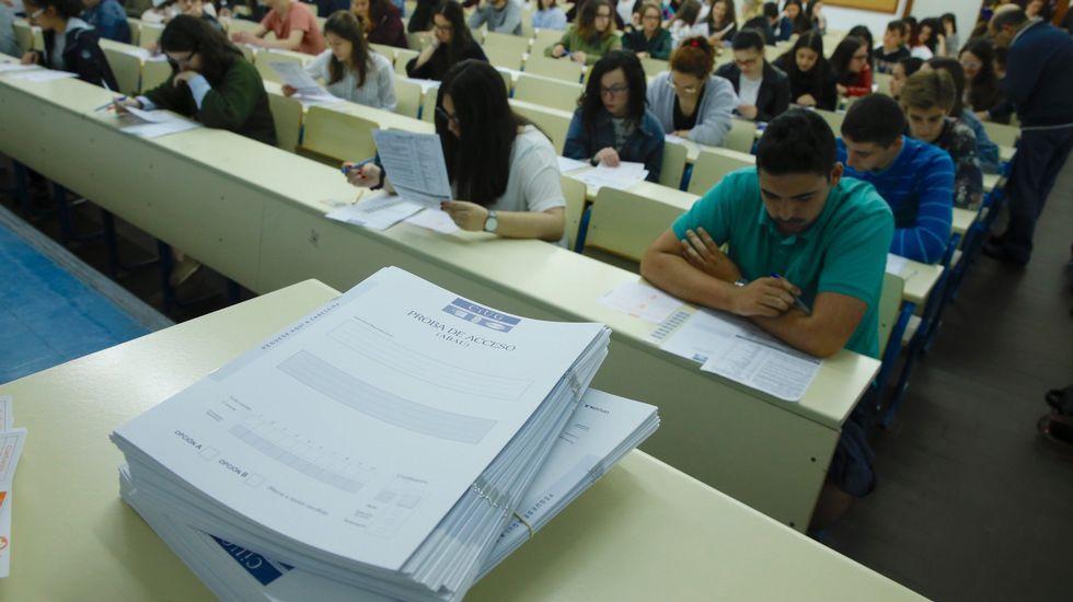 Exámenes de la prueba de acceso a la universidad