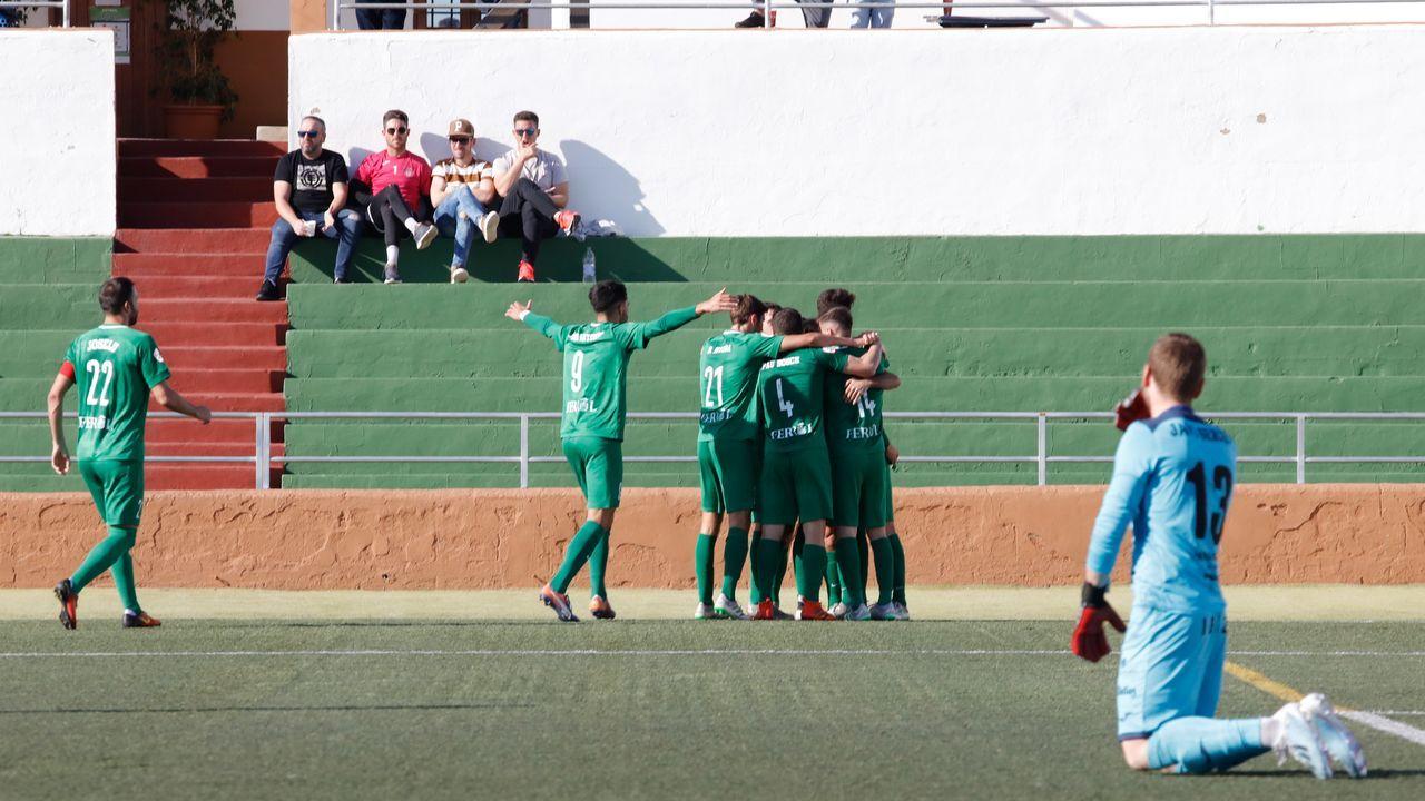 Las imágenes del Peña Deportiva - Racing.Riki Rodríguez