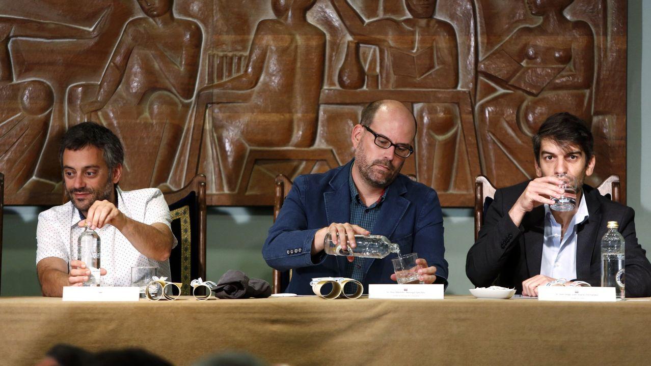 Ferreiro, Noriega y Suárez, un año después de que se convirtieran en alcaldes de sus ciudades