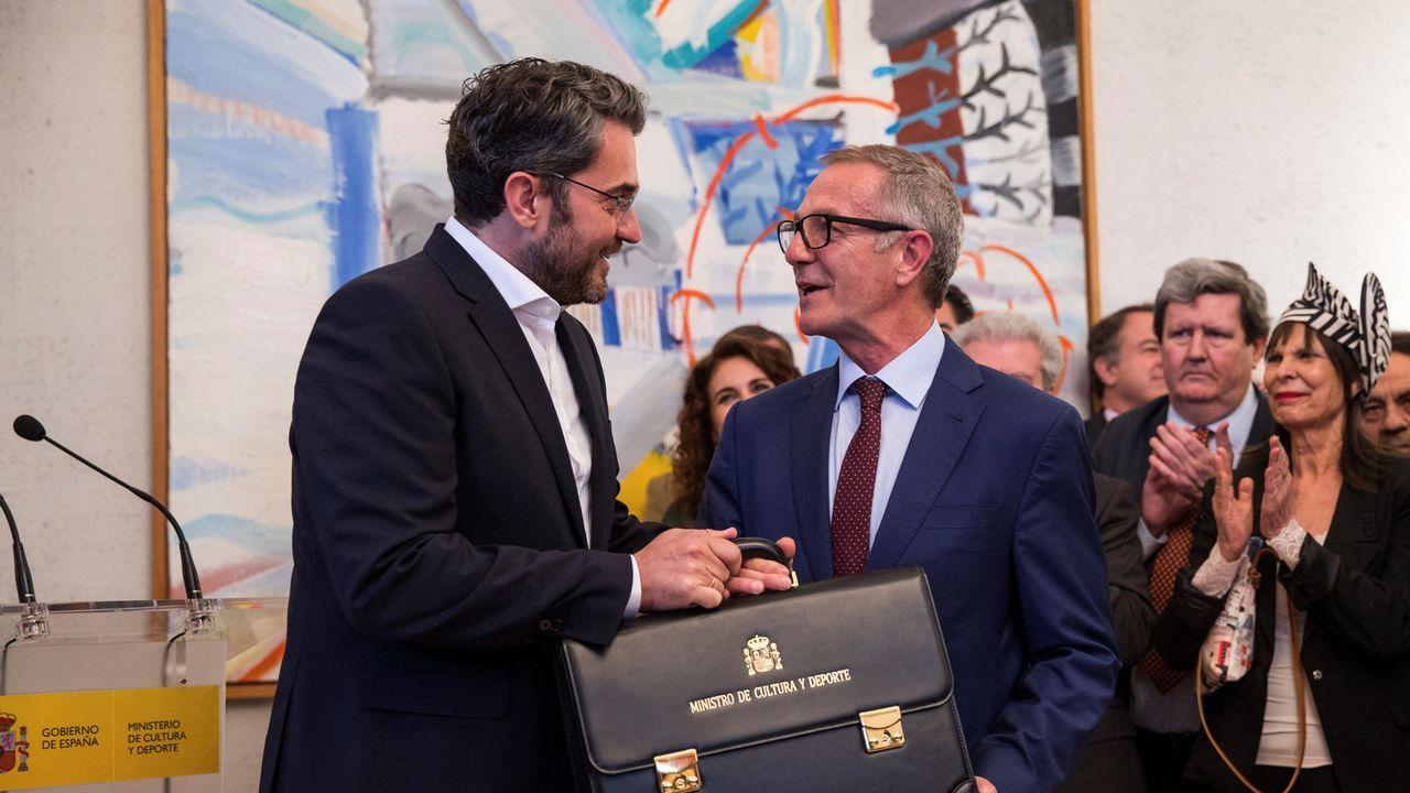 El pórtico de la Gloria, galardonado con el premio Europa Nostra.La muestra fue inaugurada en el Centro Abanca de Santiago