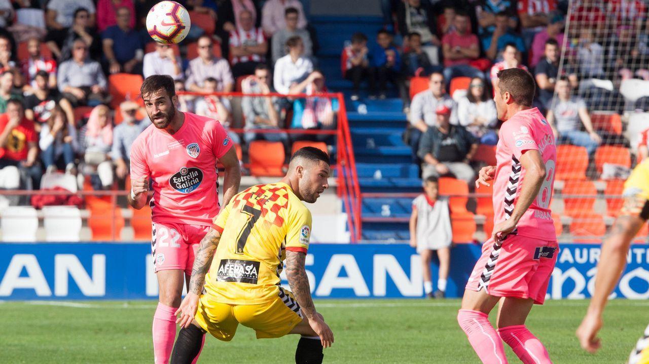Anquela Real Oviedo Requexon.Christian Fernández en El Requexón