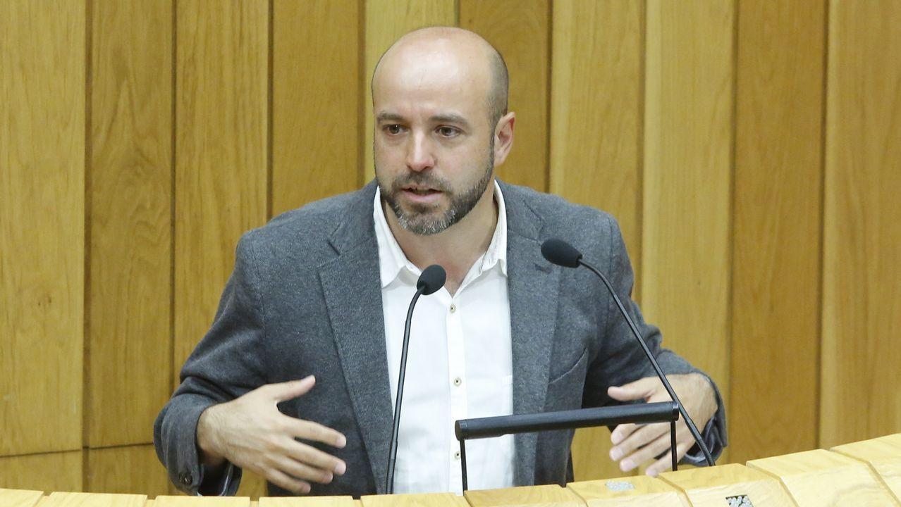 Villares y sus diputados se van al grupo mixto.Ferreiro, Noriega y Suárez, un año después de que se convirtieran en alcaldes de sus ciudades