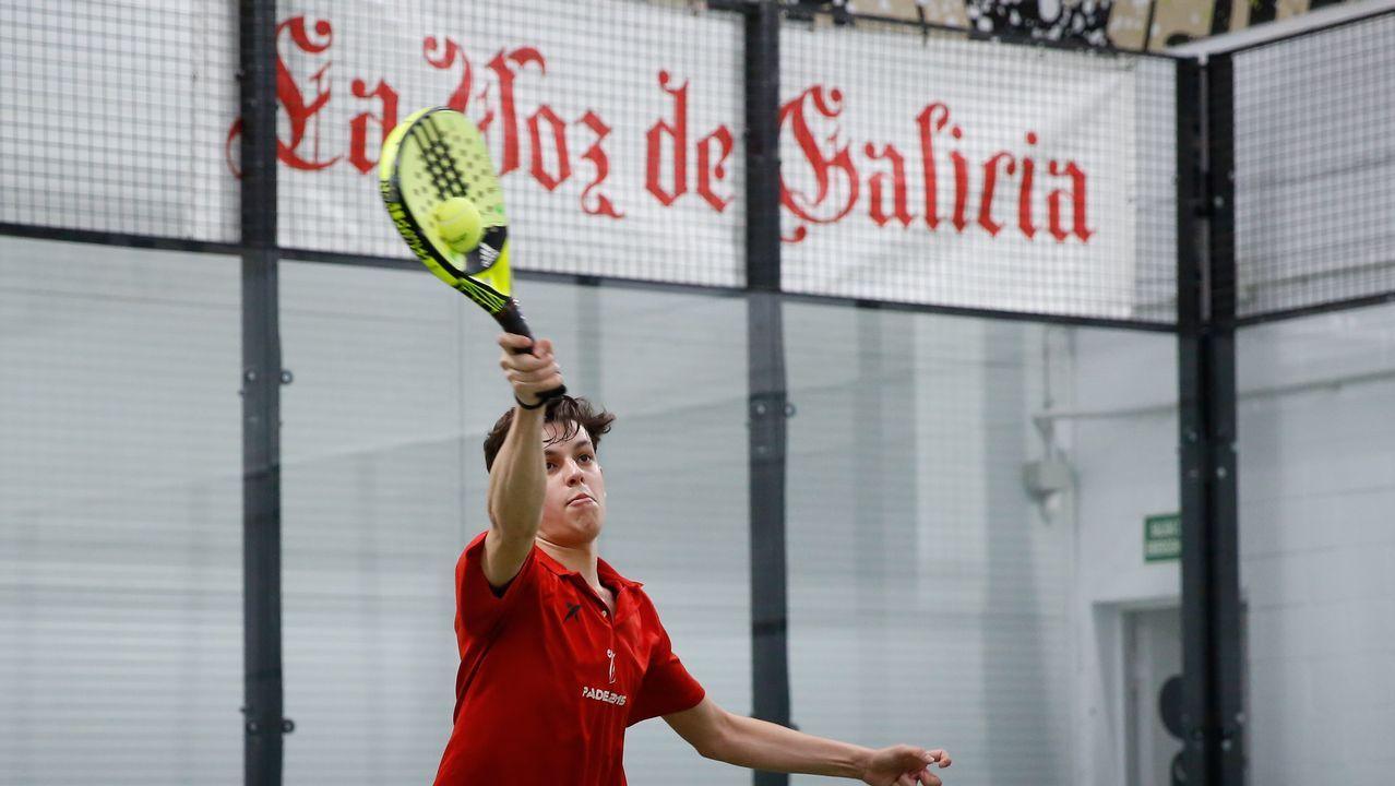 El Open La Voz de Galicia de Padel celebró suquinta edición.Helia González, jugadora gallega de voleibol