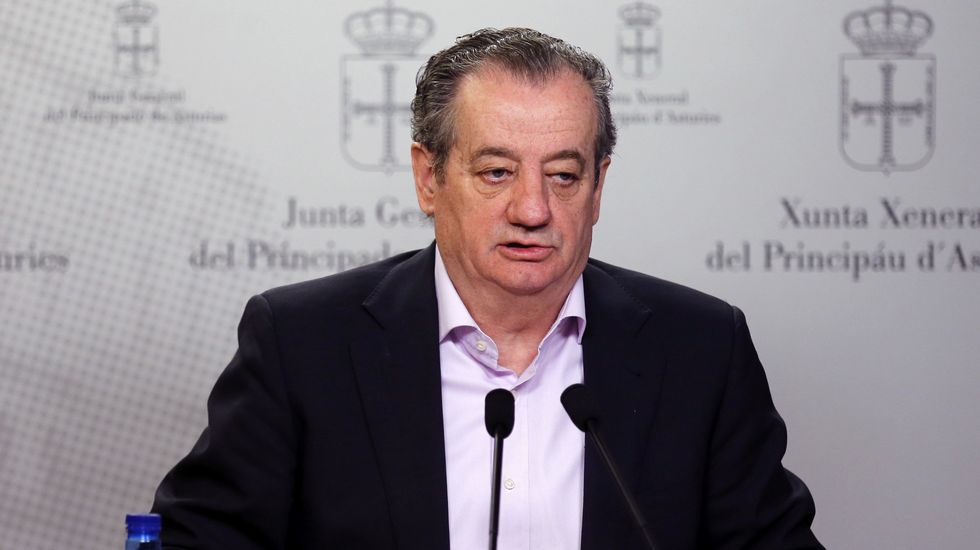 Un ejemplar de lobo.El portavoz de Ciudadanos en la Junta General, Nicanor García
