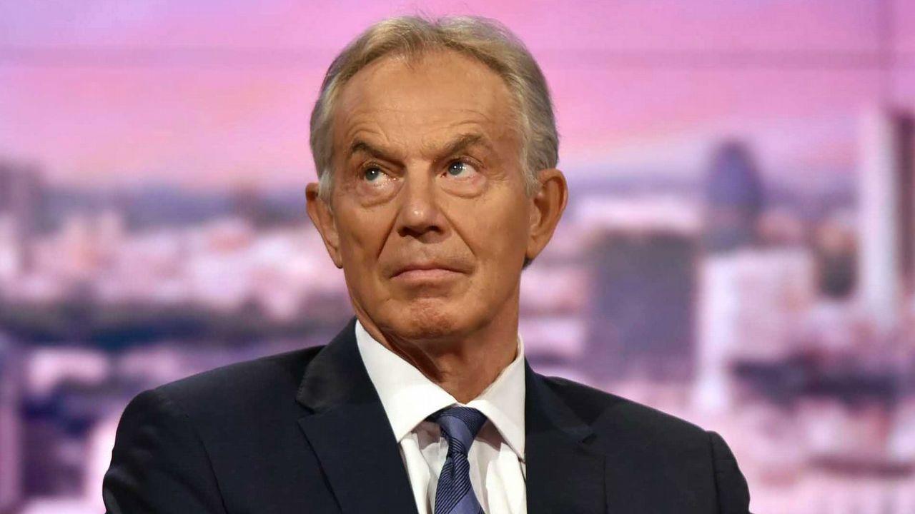 Theresa May anuncia su dimisión.Tony Blair