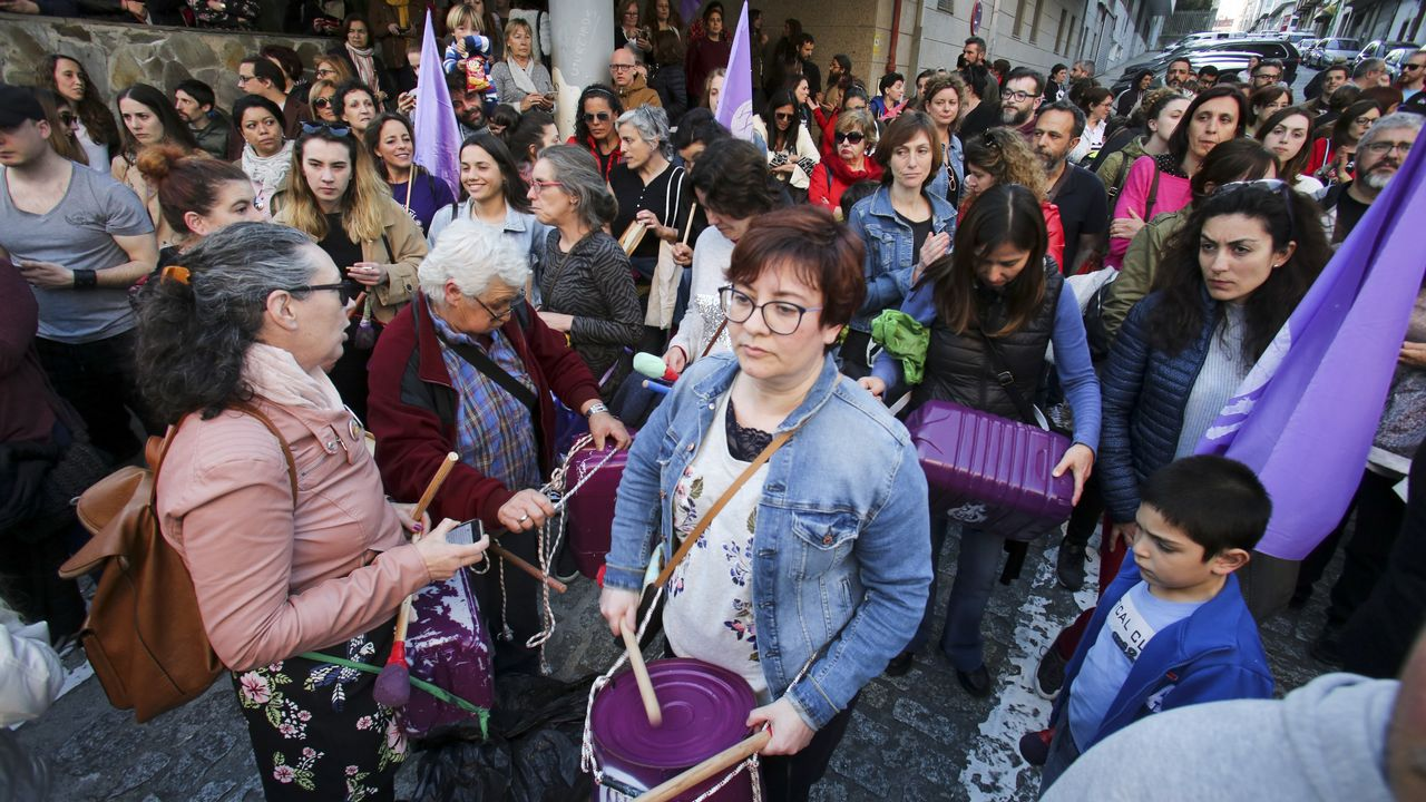 Protesta en Ferrol