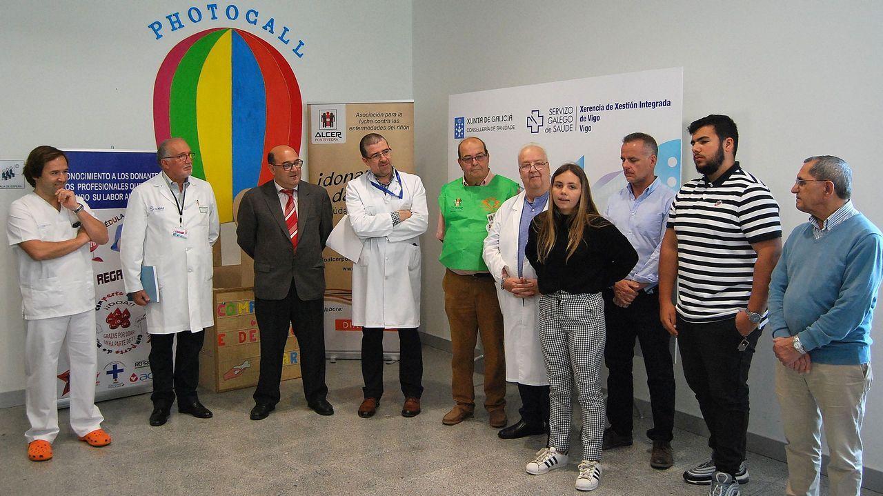 Ellos son las Medallas Castelao 2019.Rafa fue diagnosticado con leucemia antes de los dos años. Ha fallecido en Oviedo