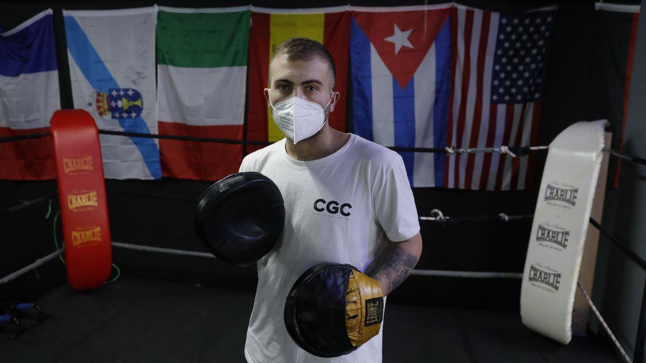 Carlos García abrió su gimnasio hace un año y ahora se ve obligado a cerrar temporalmente