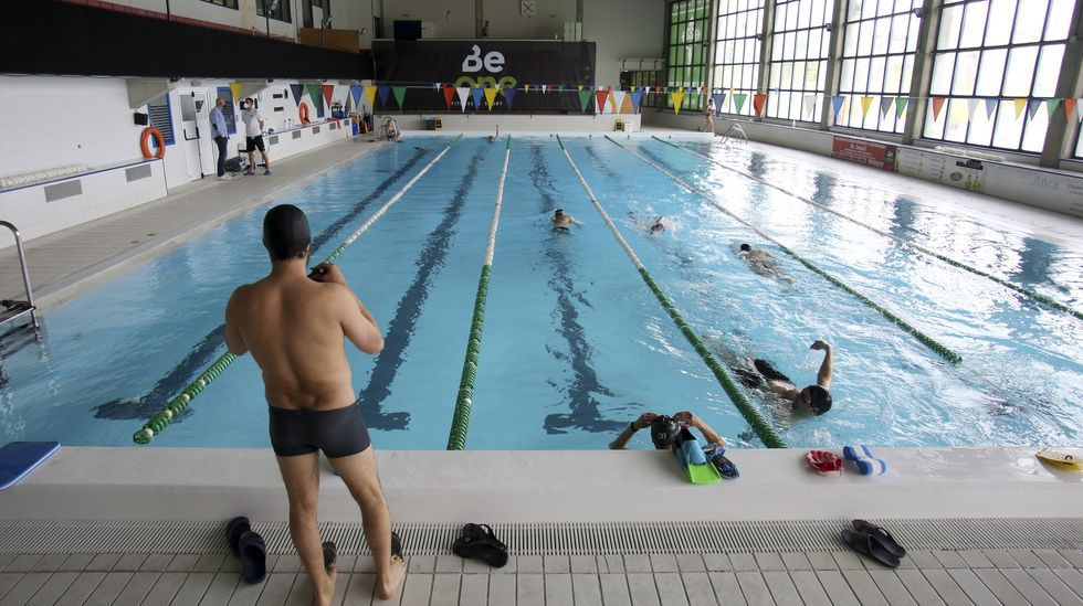 Instalaciones actuales de la piscina de A Malata