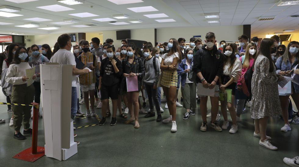 Este año se matricularon en selectividad 14.559 estudiantes, una cifra que no se repetía desde finales de los noventa