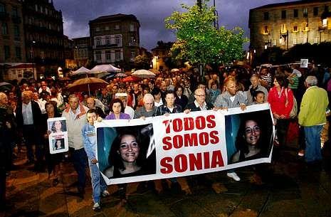 La ciudad se ha volcado en cada aniversario de la desaparición de Sonia Iglesias.