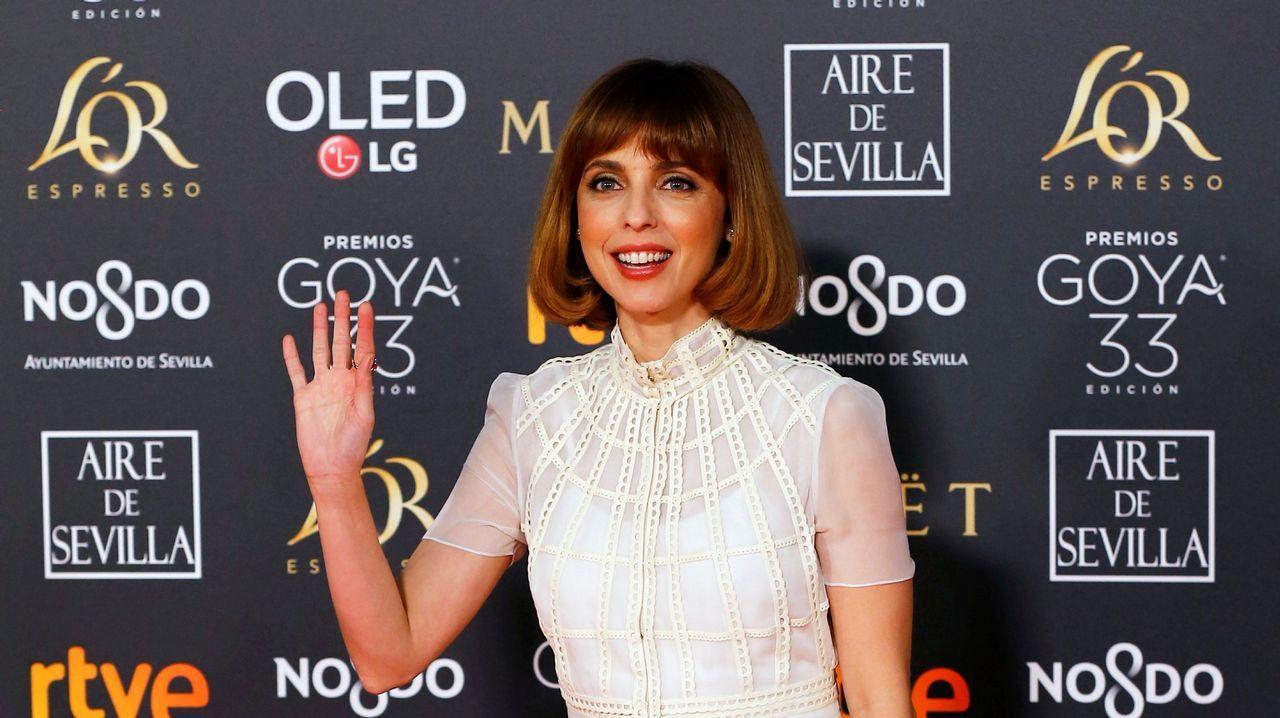 Leticia Dolera, con un diseño de la española Teresa Helbig