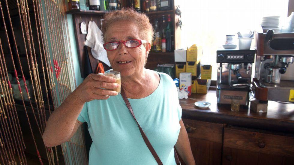 La abuela de Fuerteventura celebra en familia su salida de prisión