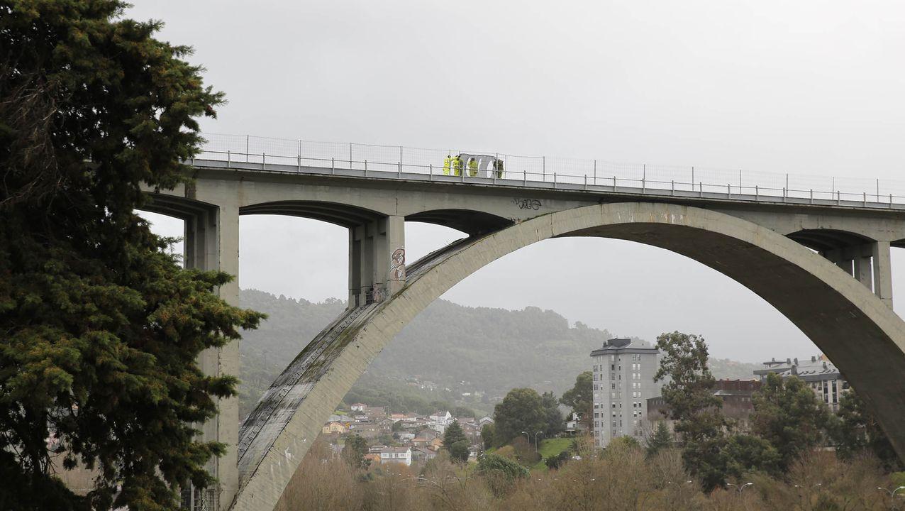 Viaducto del tren en Ourense