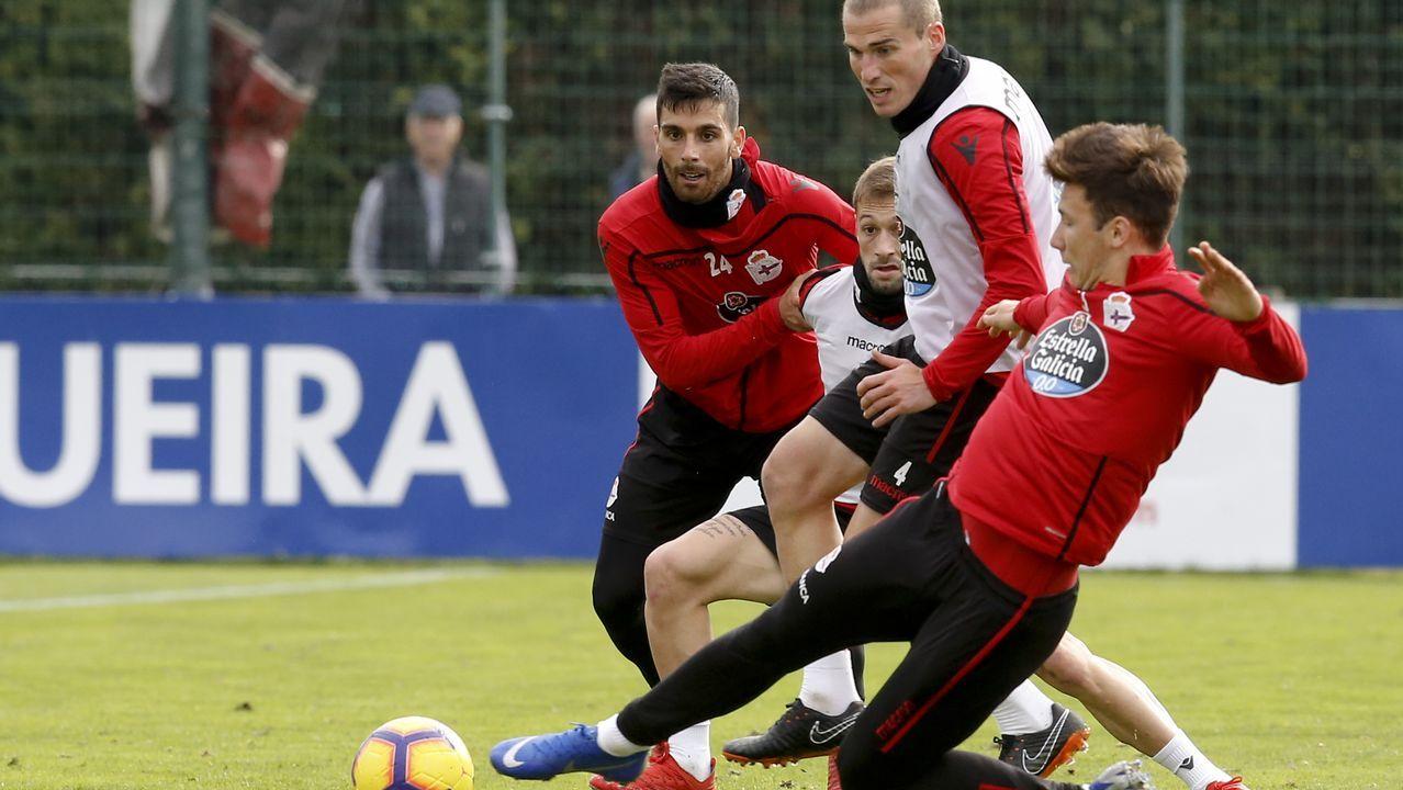 Lo mejor del Granada - Deportivo, en imágenes.Alineación del Oviedo ante el Alcorcón