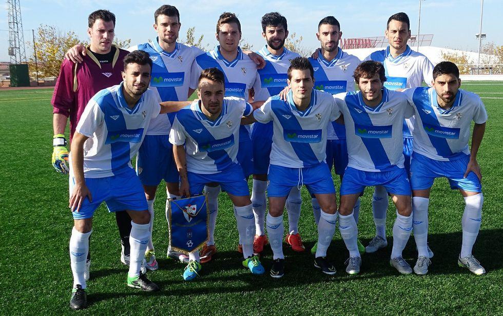 El once inicial de la selección gallega que disputó ayer su primero partido en Mérida ante Valencia.