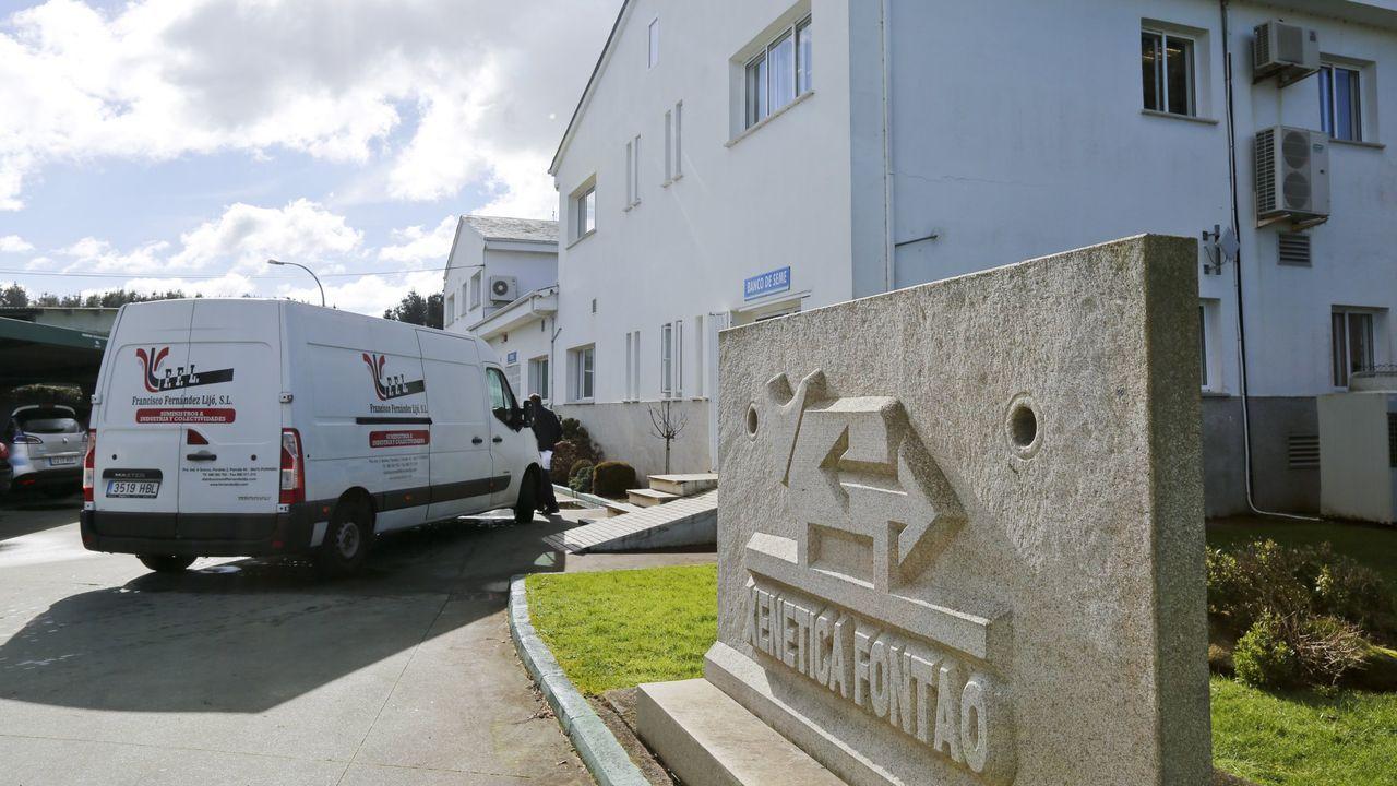 Instalaciones de Xenética Fontao, en Esperante