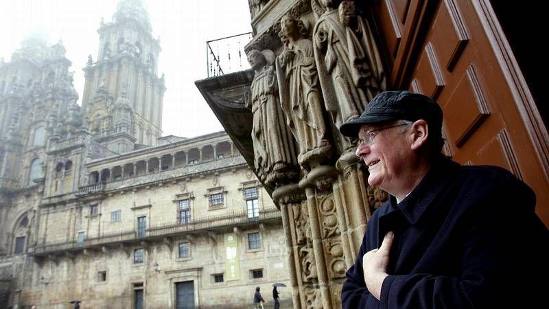 Tim Hunt visita Santiago