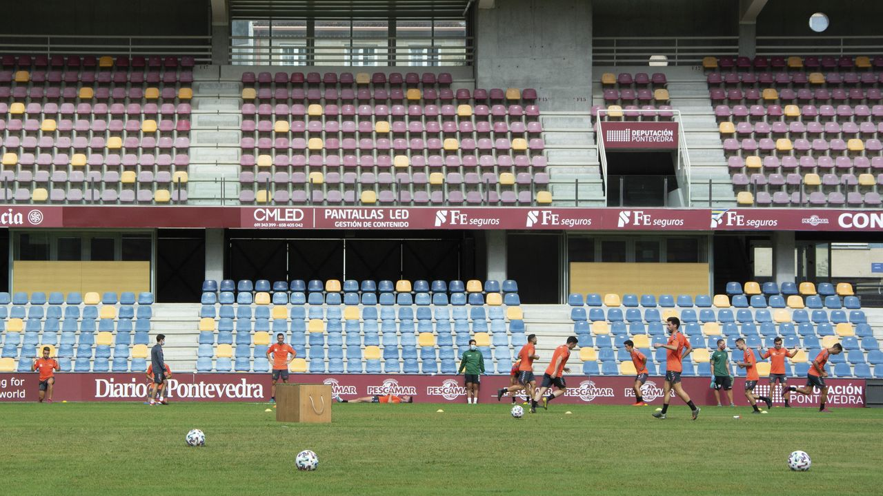 El Pontevedra vuelve al trabajo.José Manuel Colmenero, en una imagen de archivo