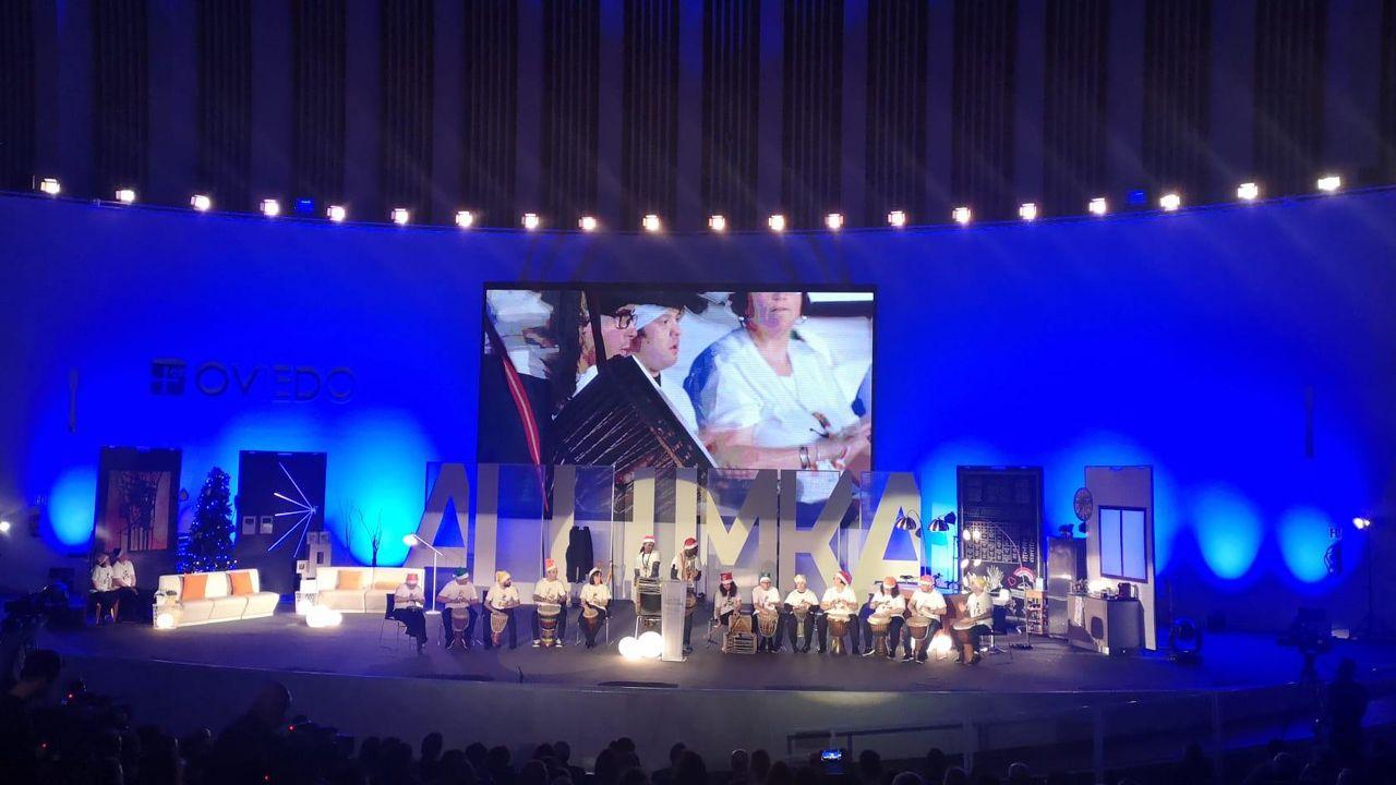 Ceremonia de entrega de los premios Luis Noé Fernández, de la Fundación Alimerka