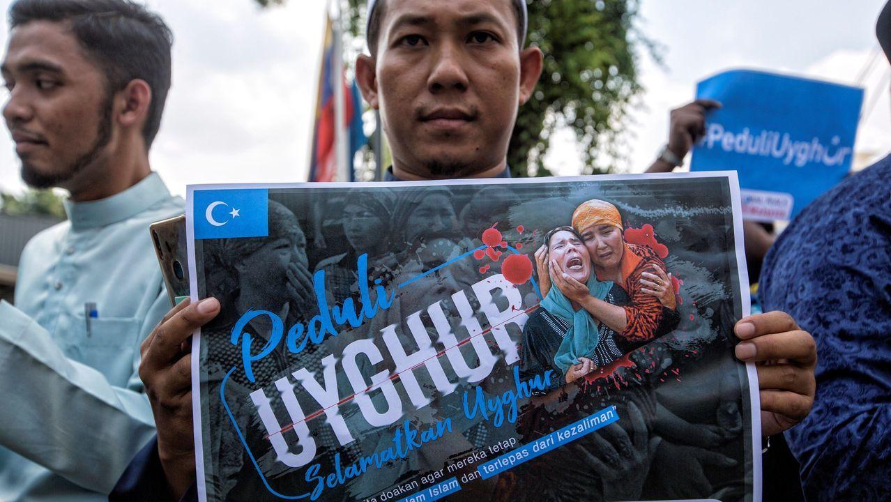 Así es la tortilla de patatas de la discordia de José Andrés.Musulmán malayo denuncia la situación de vulneración que sufre la etnia uigur en Xinjiang, China