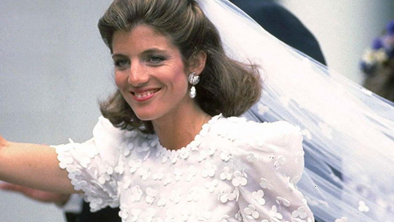 La hija de John F. Kennedy fue una de las primera en llevar un vestido de la norteamericana el día de su boda.