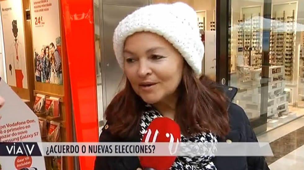 «Cambiaré mi voto si hay de nuevo elecciones»