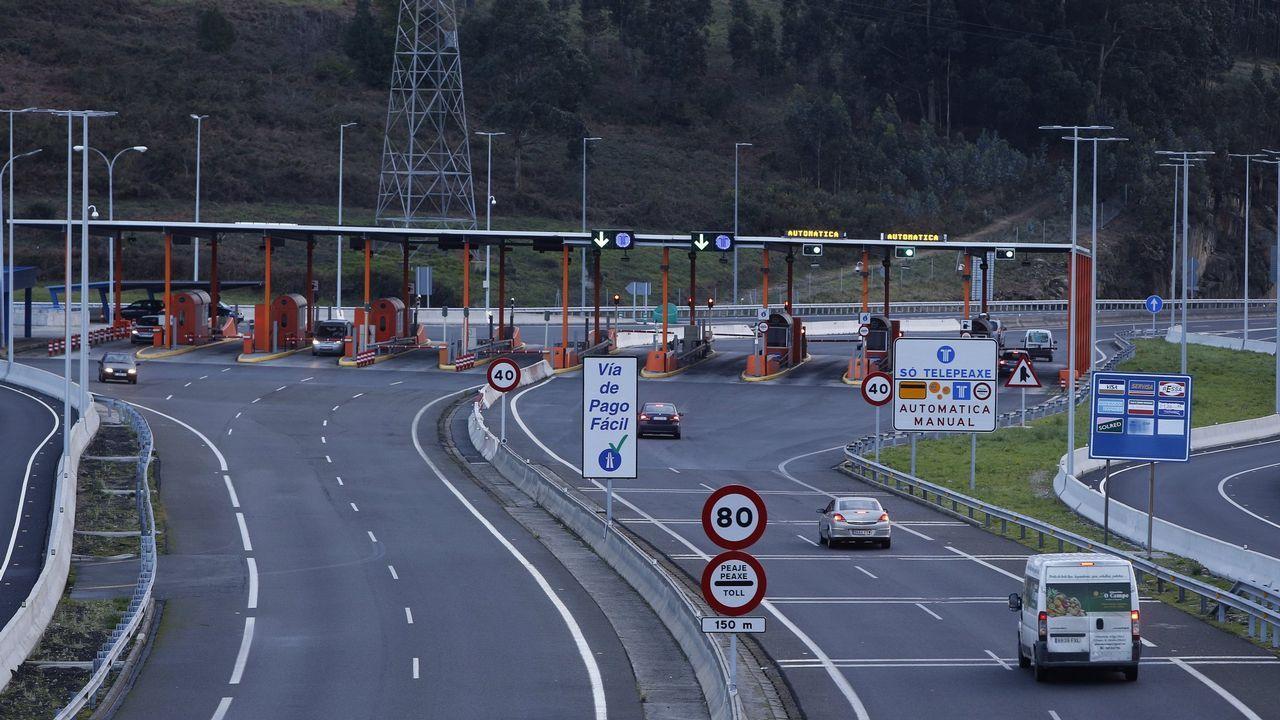 La autopista del Huerna.El pleno de la Junta General