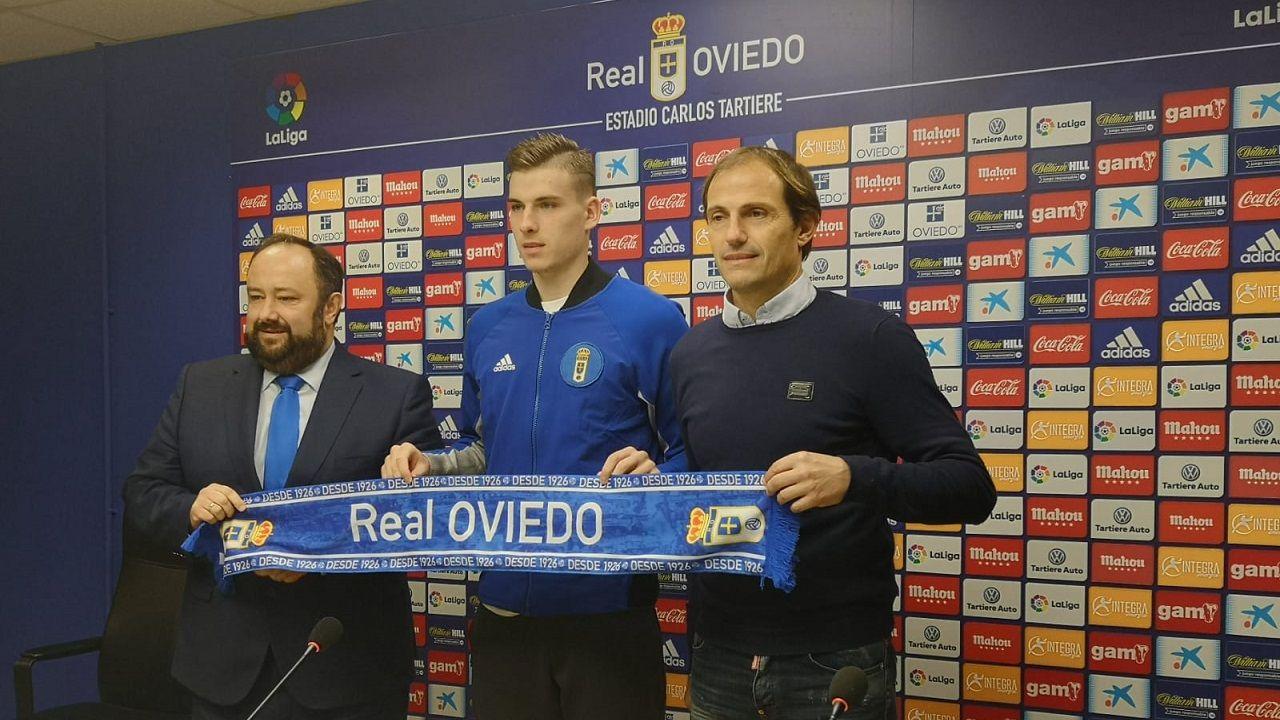 Menéndez Vallina, Lunin y Francesc Arnau