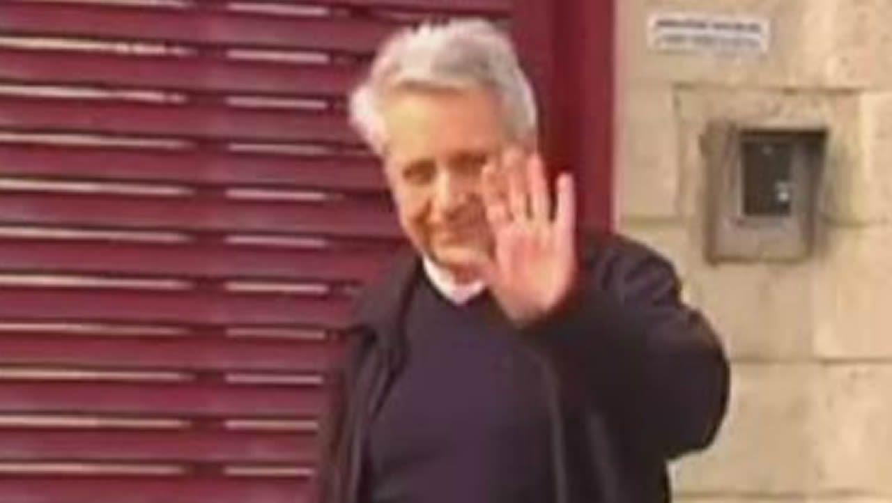 Julio Fernández Gayoso, a su salida del a prisión de A Lama el pasado agosto
