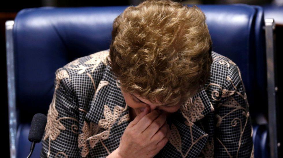 Dilma Rouseff, destituida definitivamente por el Senado como presidenta de Brasil.Eduardo Cunha