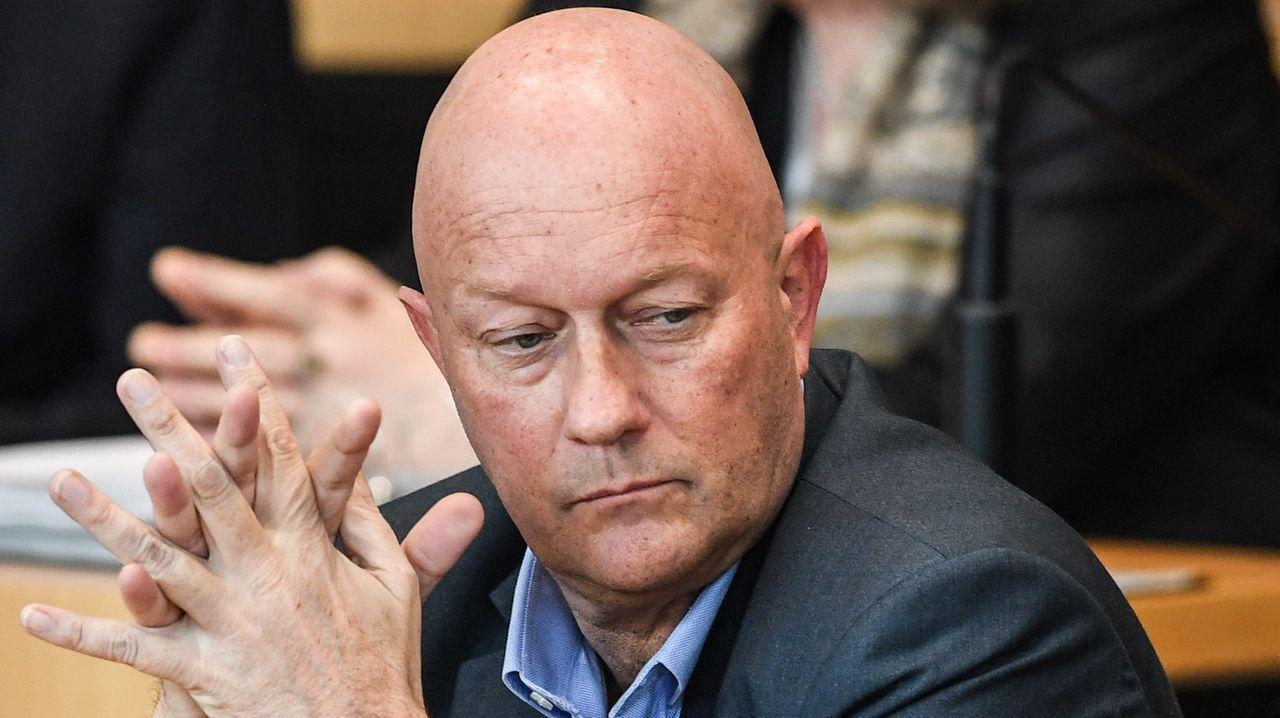 Thomas Kemmerich ya provocó un terremoto político en enero en Turingia al romper el cordón sanitario con la ultraderecha