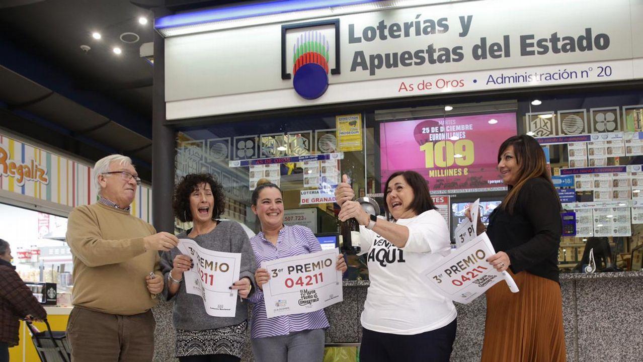 La administración As de Oros, del centro comercial Los Rosales, vendió un tercer premio