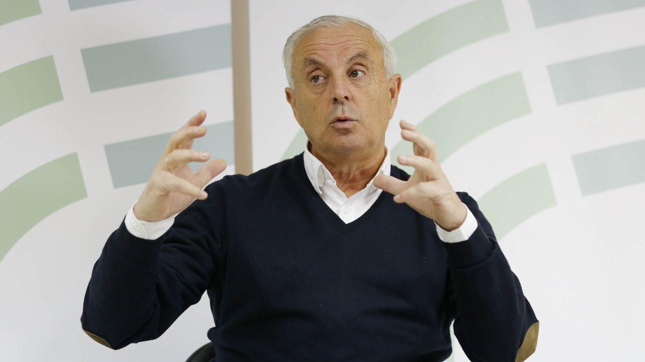 Pachi Vázquez, exconselleiro y ex secretario general del PSdeG