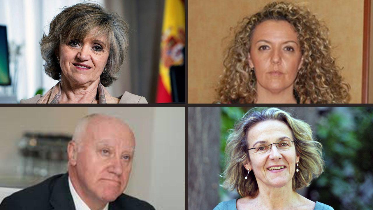 Vázquez Cereijo, al descubierto.María Luisa Carcedo, Teresa Mallada, Faustino Blanco y Paz de Andrés
