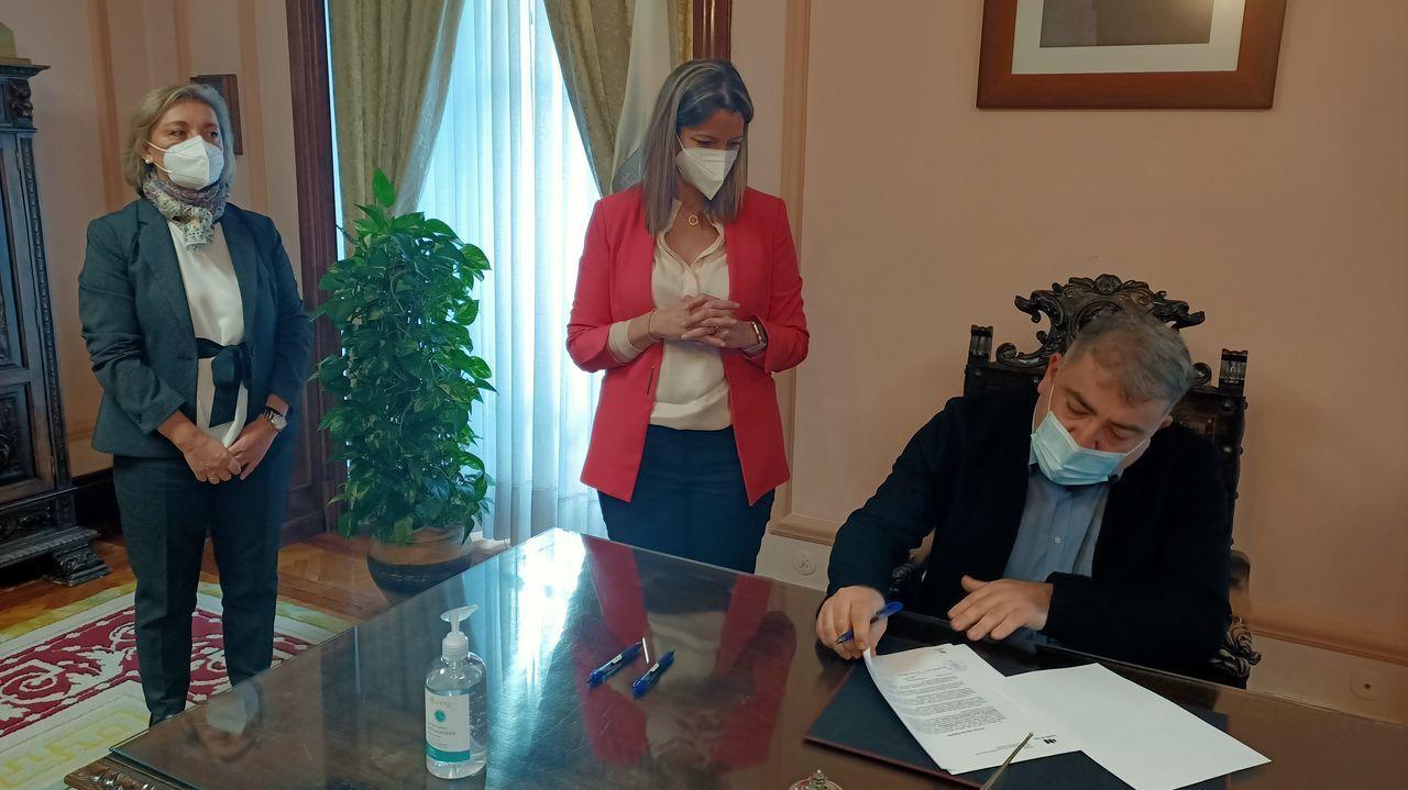 Toma de posesión do novo xefe de Medio Ambiente, Julio Torre