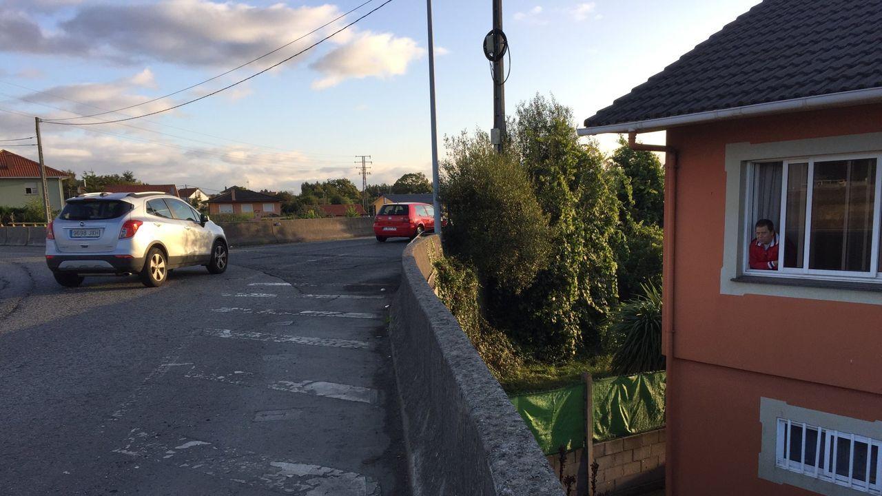 La vía en obras parte del barrio naronés de A Solaina y desemboca en la rotonda de Basanta