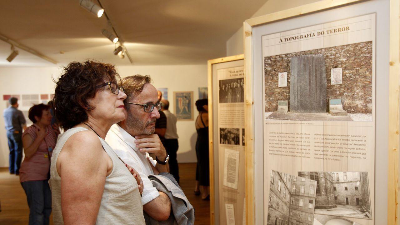 Cinco centenarios del entorno de Santiago cuentan su vida en la pandemia del covid.Manuel Federico Quintáns, de 102 años, es vecino de Negreira