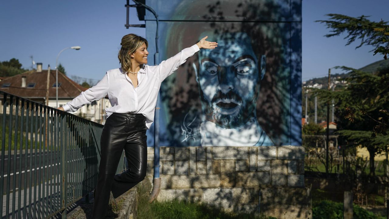 El arte urbano viste, embellece y representa a las ciudades. En Ourense, los murales de Mon Devane