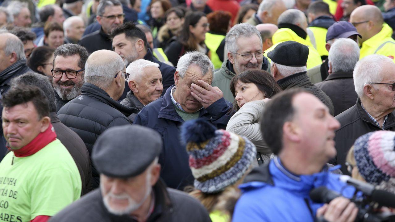 Manifestación en As Pontes por el posible cierre de la central de Endesa