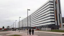 Vista del Hospital Universitario Central de Asturias (HUCA) en Oviedo