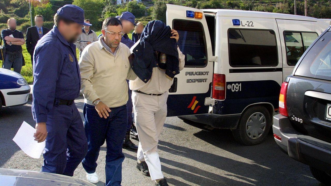 Rosendo tras salir de prisión: «No me han robado la fe».Prisión de Teixeiro