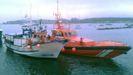 La mala mar impidió un rescate más veloz del marinero que falleció en Ons