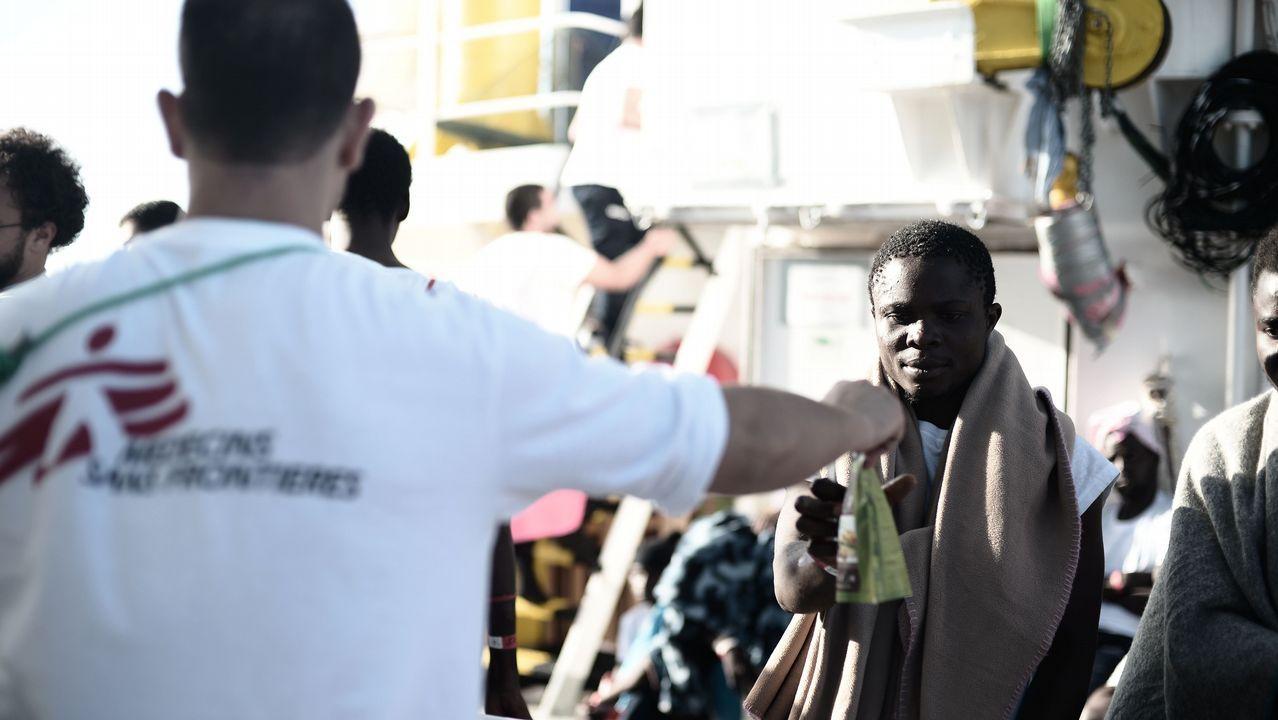 Los tres bebes que murieron tras el naufragio de una embarcación hinchable frente a las costa libia